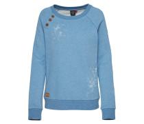 Sweatshirt 'daria' blau
