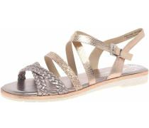 Sandalen/Sandaletten silber