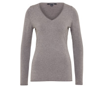 Dünner Pullover 'pullover Langarm' taupe
