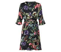 Kleid 'leonora' mischfarben / schwarz