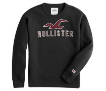 Pullover dunkelrot / schwarz