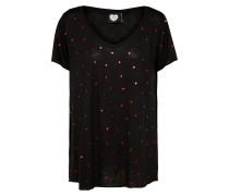 T-Shirt 'jammin' schwarz