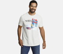 T-shirt ' Sigurd ' weiß