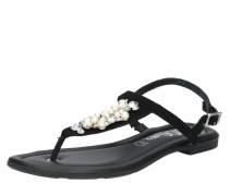 Sandale 'Pearl' schwarz