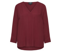 Bluse 'bay' bordeaux