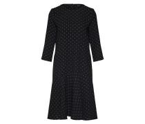 Kleid 'Winala' schwarz / weiß
