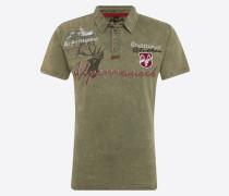 Poloshirt 'm19 Alpenrausch Polo' khaki