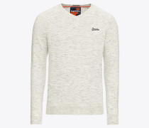 Pullover 'orange Label Cotton Vee'