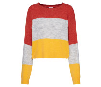 Pullover 'nmrowan L/S Cropped O-Neck'