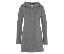 Mantel 'sedona' graumeliert