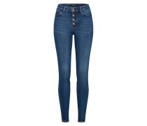 Jeans '1981 Exposed Button' blue denim
