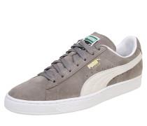 Sneaker 'Suede Classic' grau / weiß