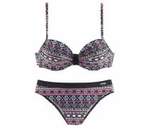 Bügel-Bikini marine / lila