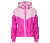 Windbreaker pink / rosa / weiß
