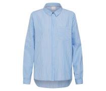 Bluse 'Vinca' hellblau / weiß