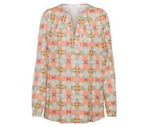 Bluse beige / apricot / hellgrün