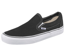 Classic Slip-On Sneaker schwarz