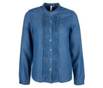 Bluse blue denim