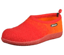 Hausschuhe orange / orangerot