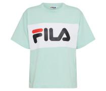 T-Shirt 'Allison' grün / weiß