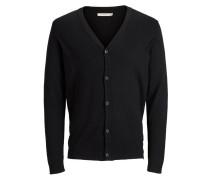 Strick-Cardigan schwarz