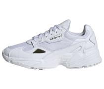 Sneaker 'Falcon' gold / weiß