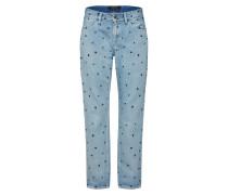 Jeans nachtblau / hellblau