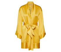Kimono 'Kimono Satin Flower' gelb
