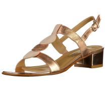 Sandalen beige / rosegold