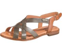 Sandalen 'Algar' brokat / bronze