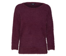 Pullover 'Pullover 1/1 Arm' beere
