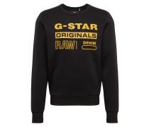 Sweatshirt 'Swando-s' schwarz