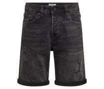 Shorts 'avi' black denim