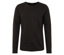 Sweatshirt 'Milo Sweat LS' schwarz