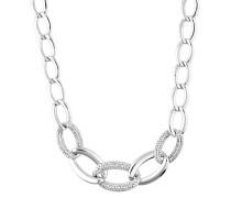 Halskette Braid Elnl91948A450 mit Zirkonia-Steinen