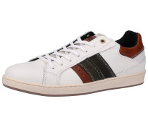 Sneaker dunkelbraun / schwarz / weiß