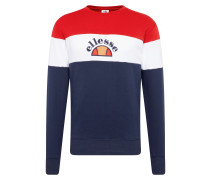 Sweatshirt 'oriveto' navy / rot / weiß