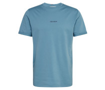 T-Shirt 'Lens' blau