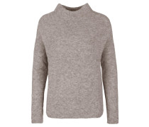 Pullover 'turtleneck Crop' taupe