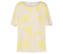Shirt 'Candy Flower' beige / gelb