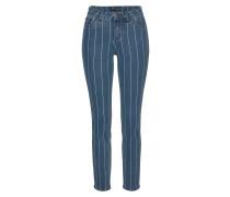 Jeans blau / weiß