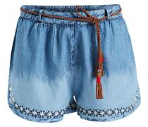 Hose ' Palimina ' blue denim / braun