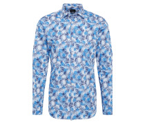 Hemd 'regpen-Jess' blau / weiß