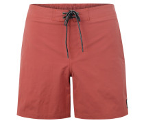 Badeshorts 'semi- Elasticated ERA 16' rot