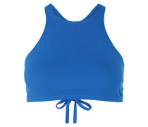 Bikini-Oberteil 'crop Think' blau