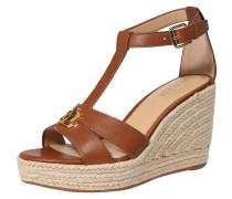 Sandale 'hale' braun