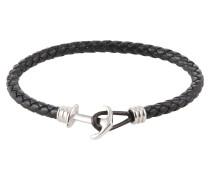 Armband ' Anchor' schwarz / silber