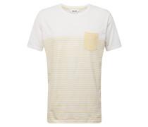 T-Shirt 'Halle' gelb