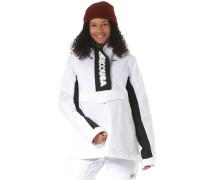 Snowboardjacke 'Envy' schwarz / weiß