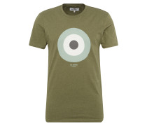 Shirt 'the Target Tee' oliv